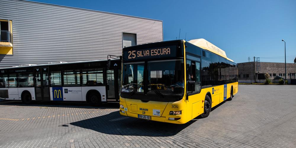 Maia Transportes - Frota Transporte Público a Gás