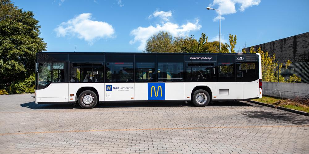 Maia Transportes - Frota Transporte Público