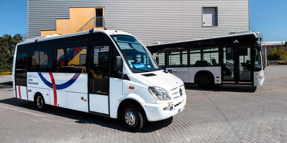 Maia Transportes - Frota MiniVan